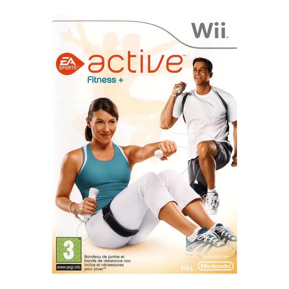 EA SPORTS ACTIVE FITNESS + WII PAL-FR OCCASION