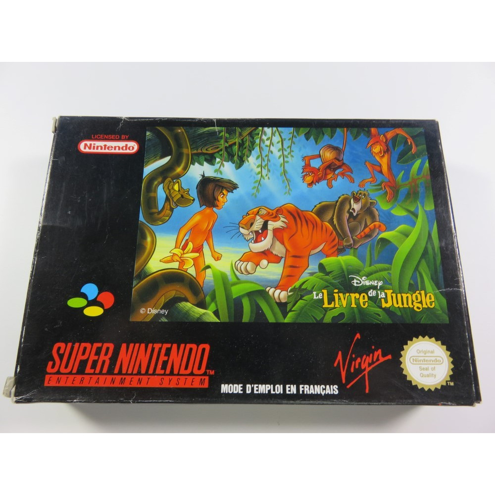 LE LIVRE DE LA JUNGLE SNES PAL-FRA OCCASION