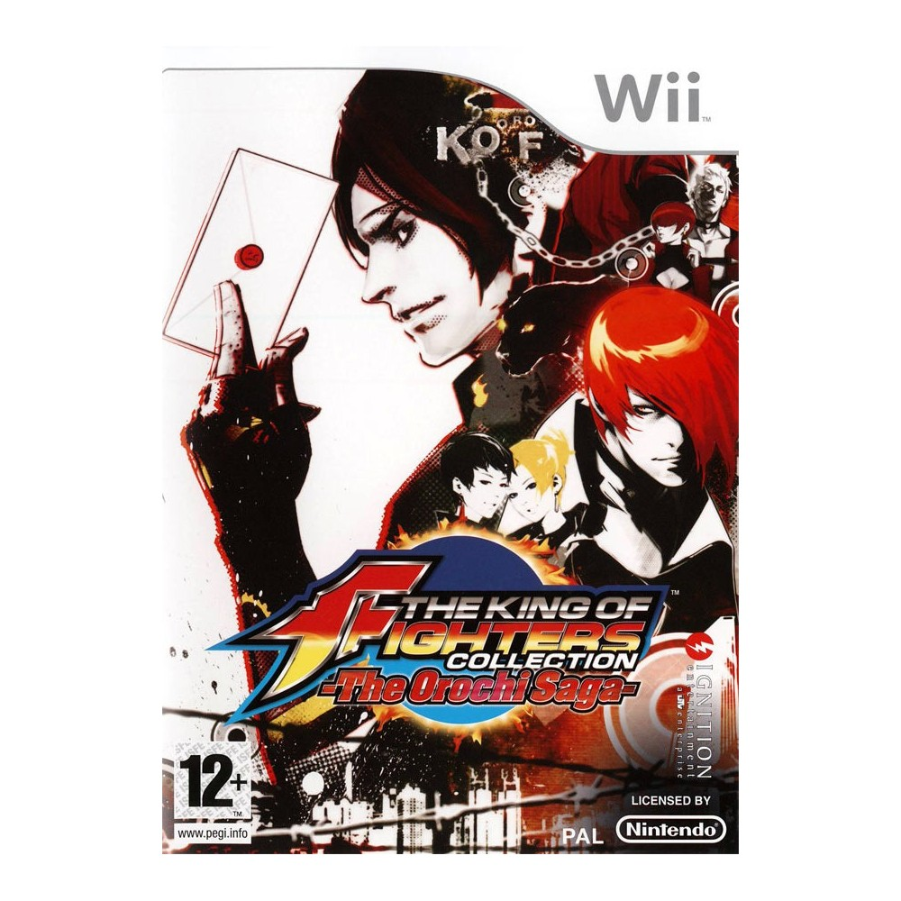 THE KING OF FIGHTERS COLLECTION - THE OROCHI SAGA - WII PAL-FR OCCASION