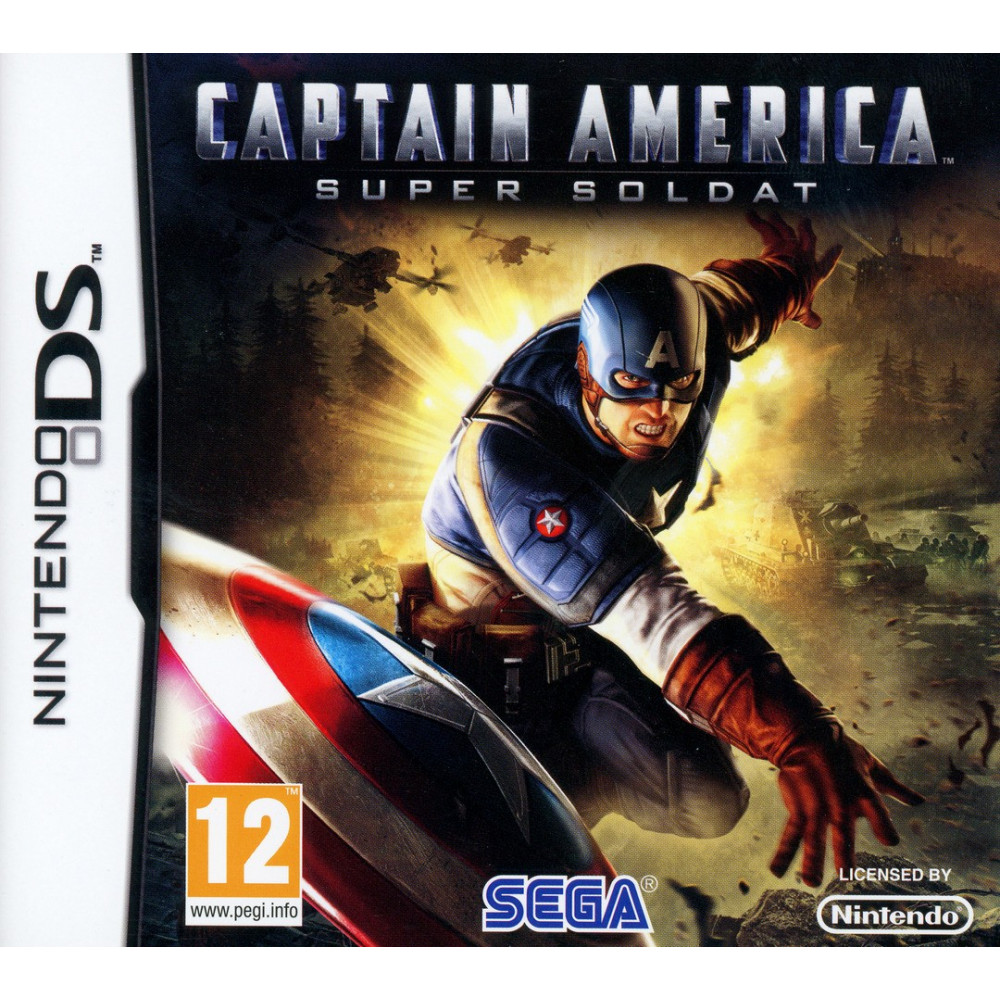CAPTAIN AMERICA NDS FRA OCCASION