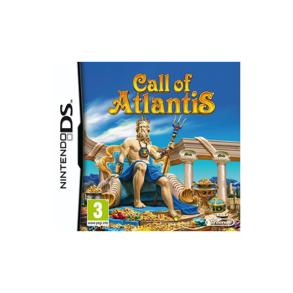 CALL OF ATLANTIS NDS FR OCCASION