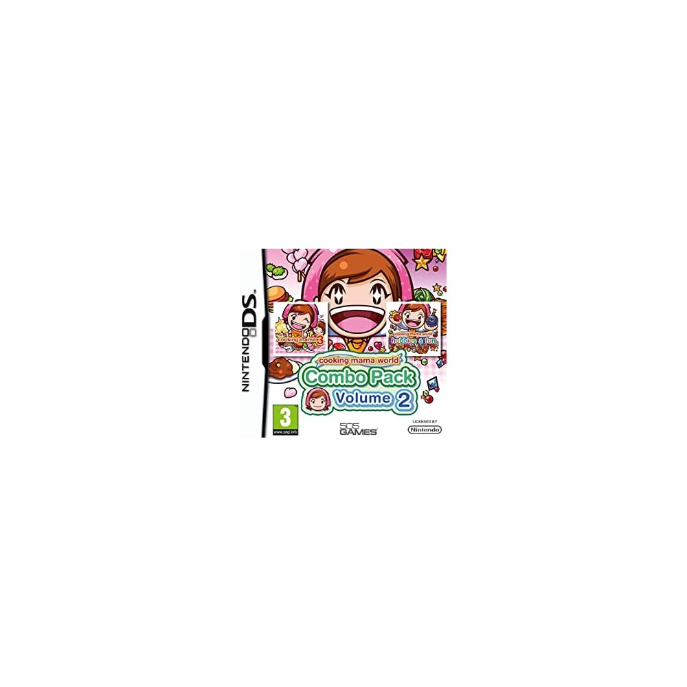 COOKING MAMA WORLD COMBOPACK VOLUME 2 NDS FR OCCASION