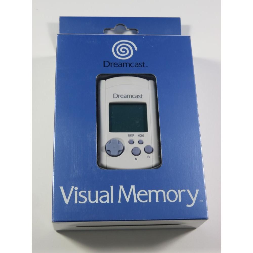 VISUAL MEMORY (VMS) SEGA DREAMCAST (DC) EURO NEUF - BRAND NEW