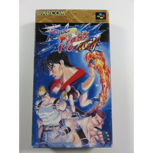 FINAL FIGHT TOUGH SUPER FAMICOM NTSC-JPN OCCASION (COMPLETE-GOOD CONDITION) CAPCOM BEAT EM ALL 1995