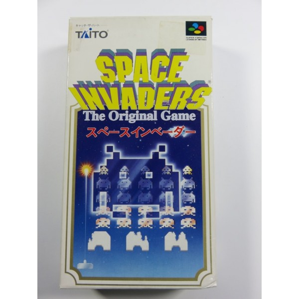 SPACE INVADERS THE ORIGINAL GAME SUPER FAMICOM NTSC-JPN OCCASION (COMPLETE-GOOD CONDITION) TAITO 1994