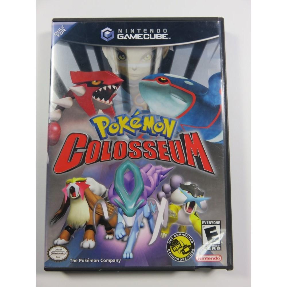 POKEMON COLOSSEUM NINTENDO GAME CUBE NTSC-USA OCCASION