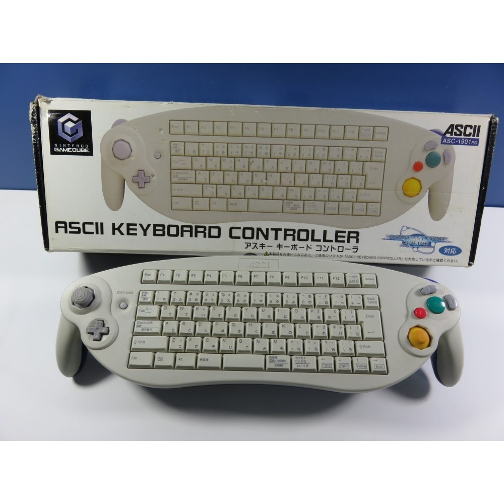 ASCII KEYBOARD CONTROLLER GAMECUBE NTSC-JPN (SANS CALE NOTICE) OCCASION