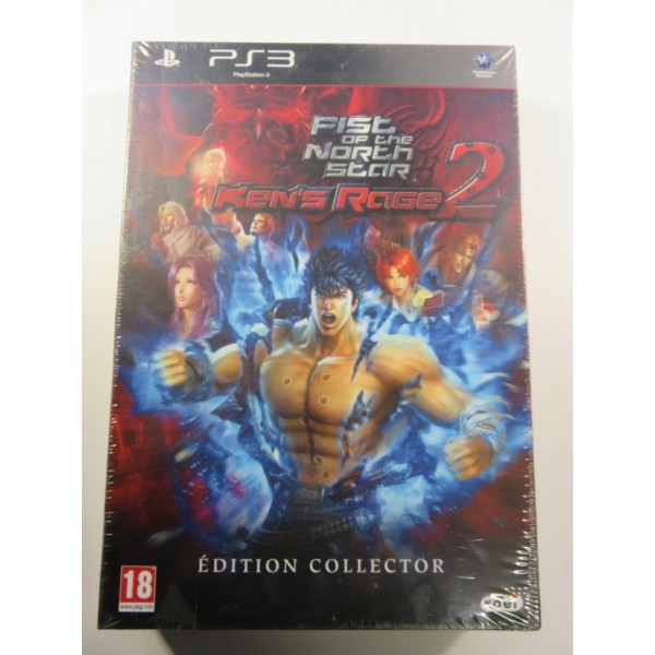 FIST OF THE NORTH STAR KEN S RAGE 2 EDITION COLLECTOR PAL-FR PLAYSTATON 3 BRAND NEW