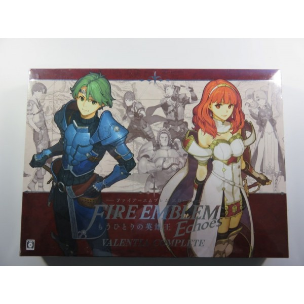 FIRE EMBLEM ECHOES VALENTIA COMPLETE LIMITED EDDITION BRAND NEW