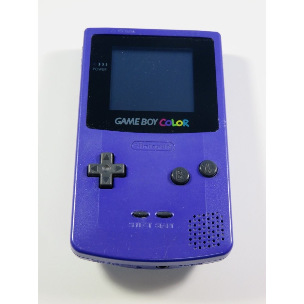 CONSOLE GAMEBOY COLOR (GBC) CBG-01 PURPLE EUR (LOOSE - GOOD CONDITION)(SERIAL C10228563)