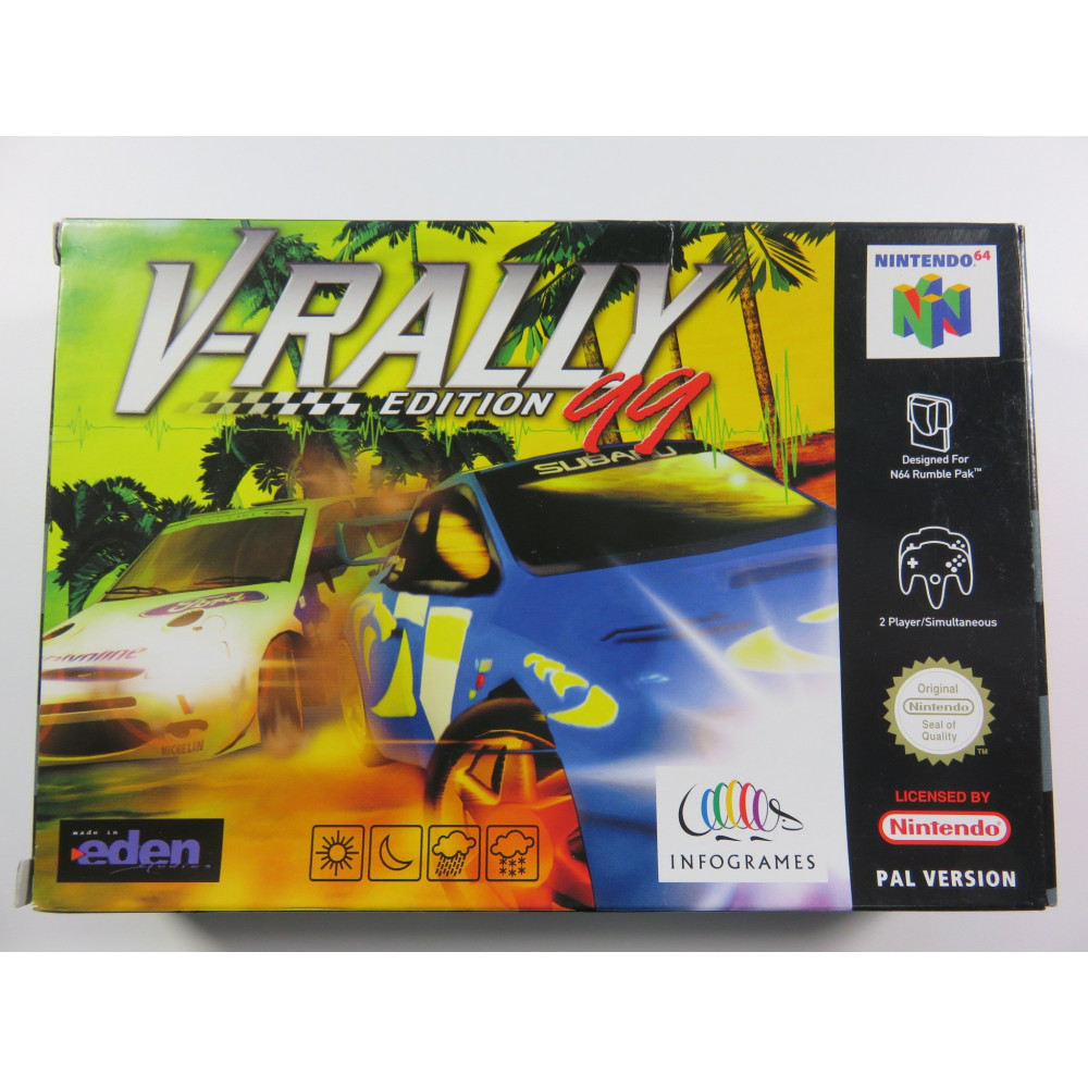 V-RALLY 99 EDITION N64 PAL-EUR OCCASION