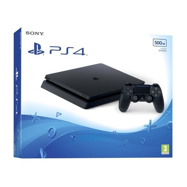 CONSOLE PS4 SLIM 500 GO FR NEW