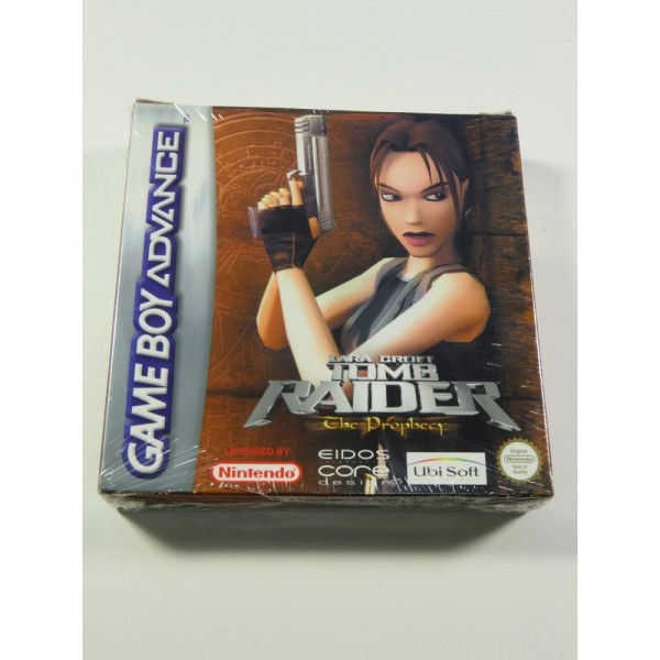 LARA CROFT - TOMB RAIDER - THE PROPHECY GAMEBOY ADVANCE (GBA) EUR NEUF - BRAND NEW