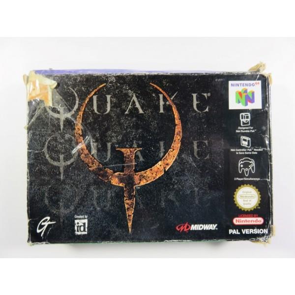 QUAKE N64 PAL-FRA OCCASION