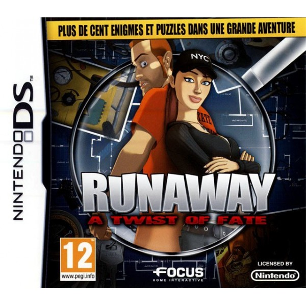 RUNAWAY A TWIST OF FATE NDS FRA OCCASION SANS NOTICE