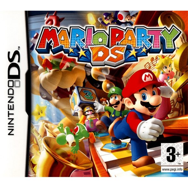 MARIO PARTY DS NDS FR OCCASION (SANS NOTICE)