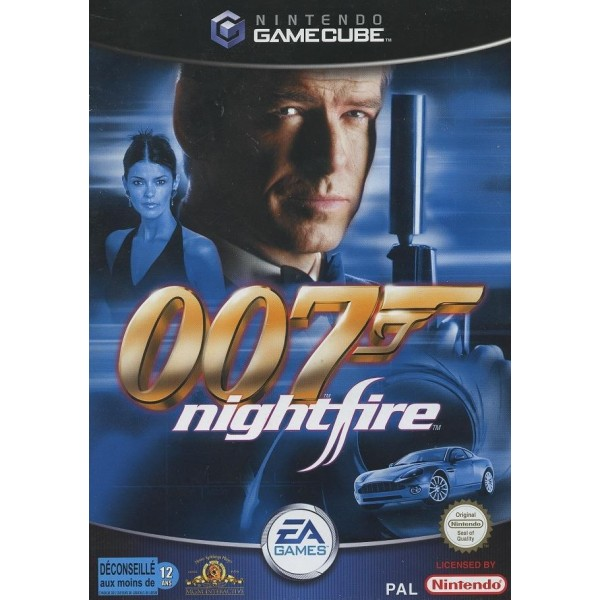 007 NIGHTFIRE GAMECUBE PAL FRA OCCASION