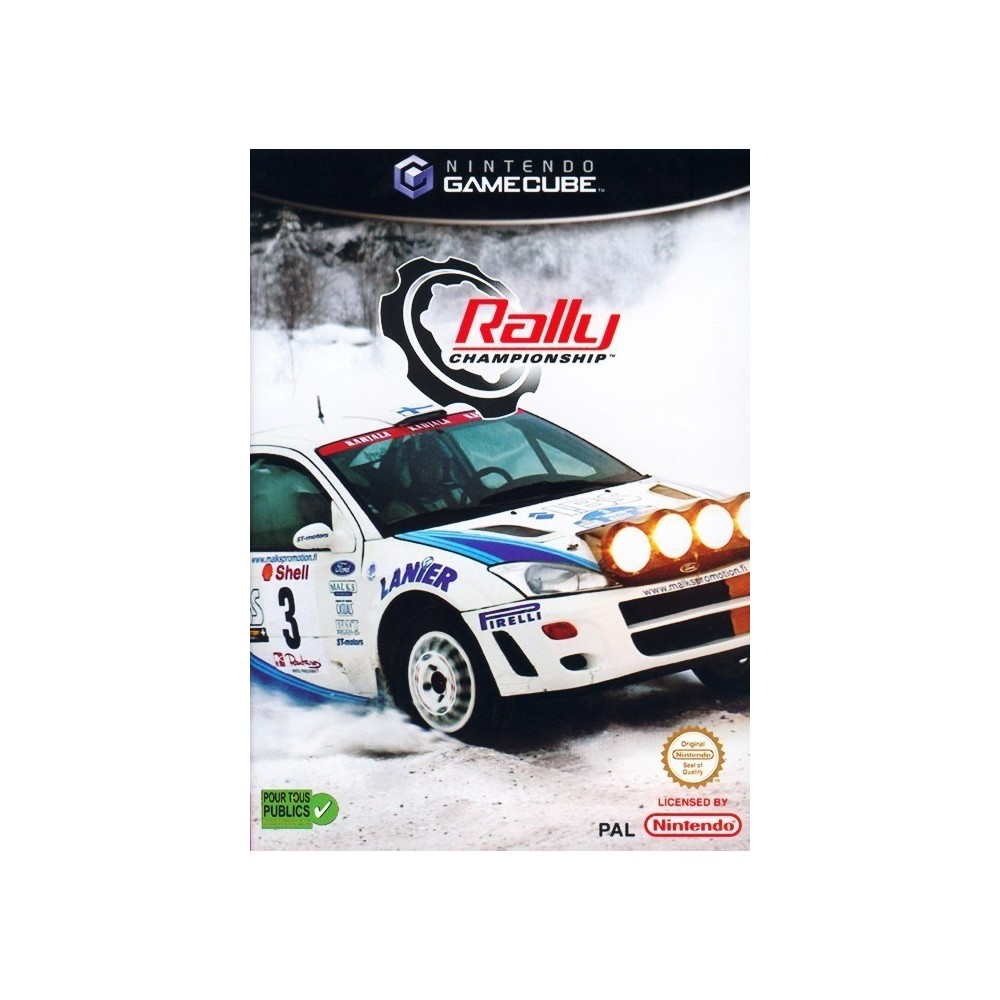 RALLY CHAMPIONSHIP GAMECUBE PAL-FR OCCASION