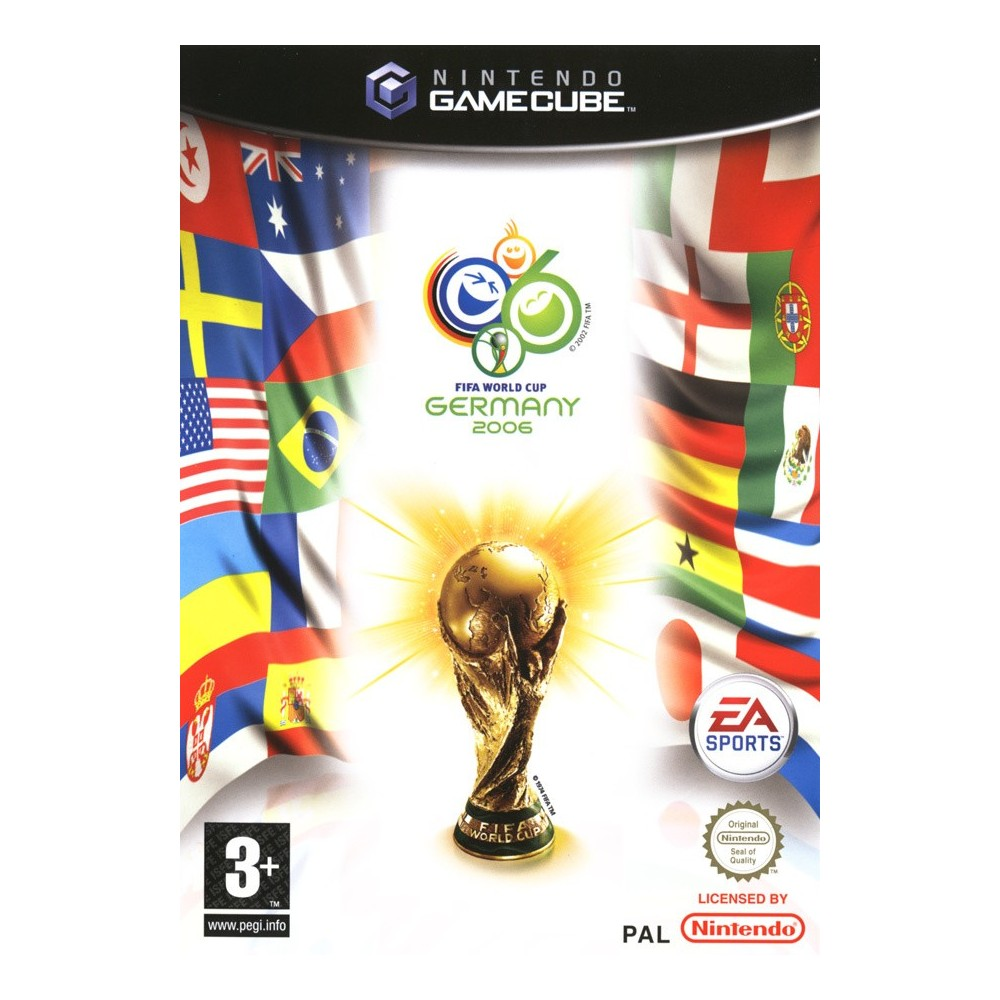 FIFA WORLD CUP 2006 GAMECUBE PAL-FR OCCASION