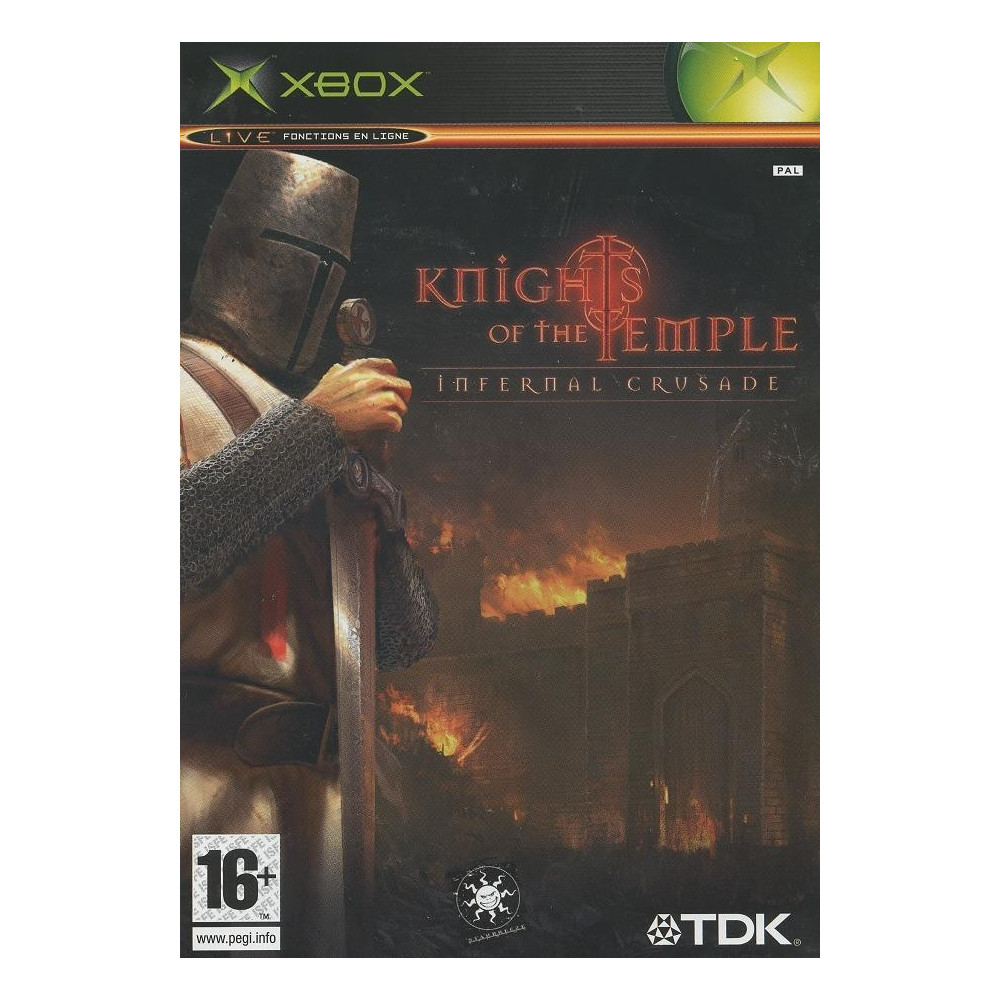 KNIGHT OF THE TEMPLE INFERNAL CRUSADE XBOX PAL-FR OCCASION