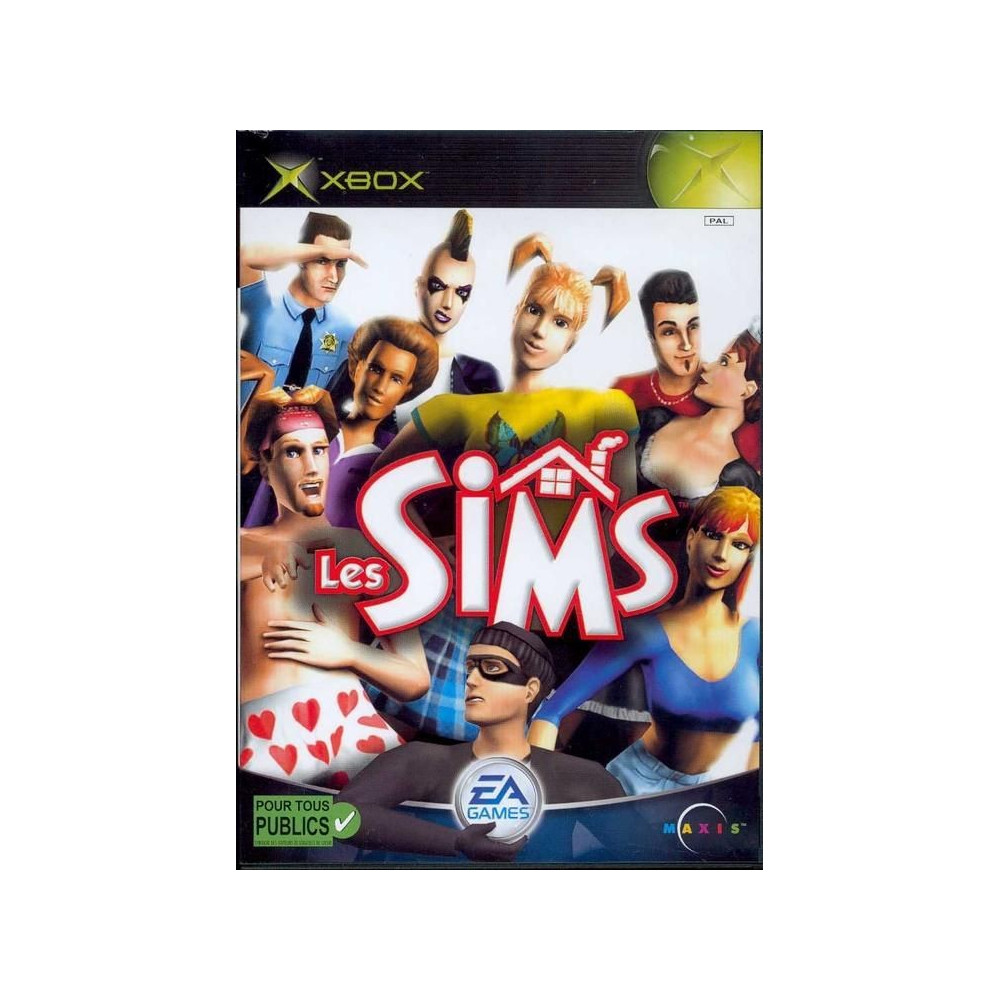 LES SIMS XBOX PAL-FR OCCASION