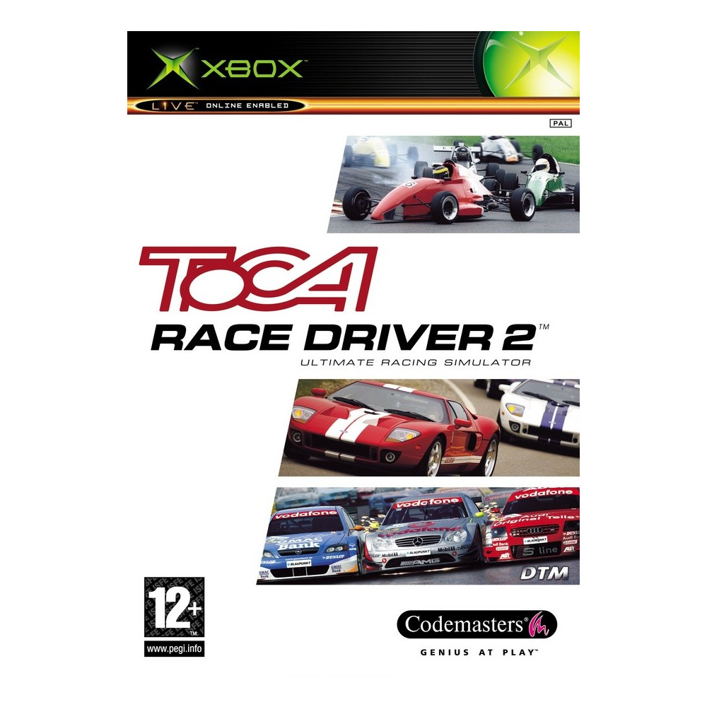TOCA RACE DRIVER 2 XBOX PAL-FR OCCASION