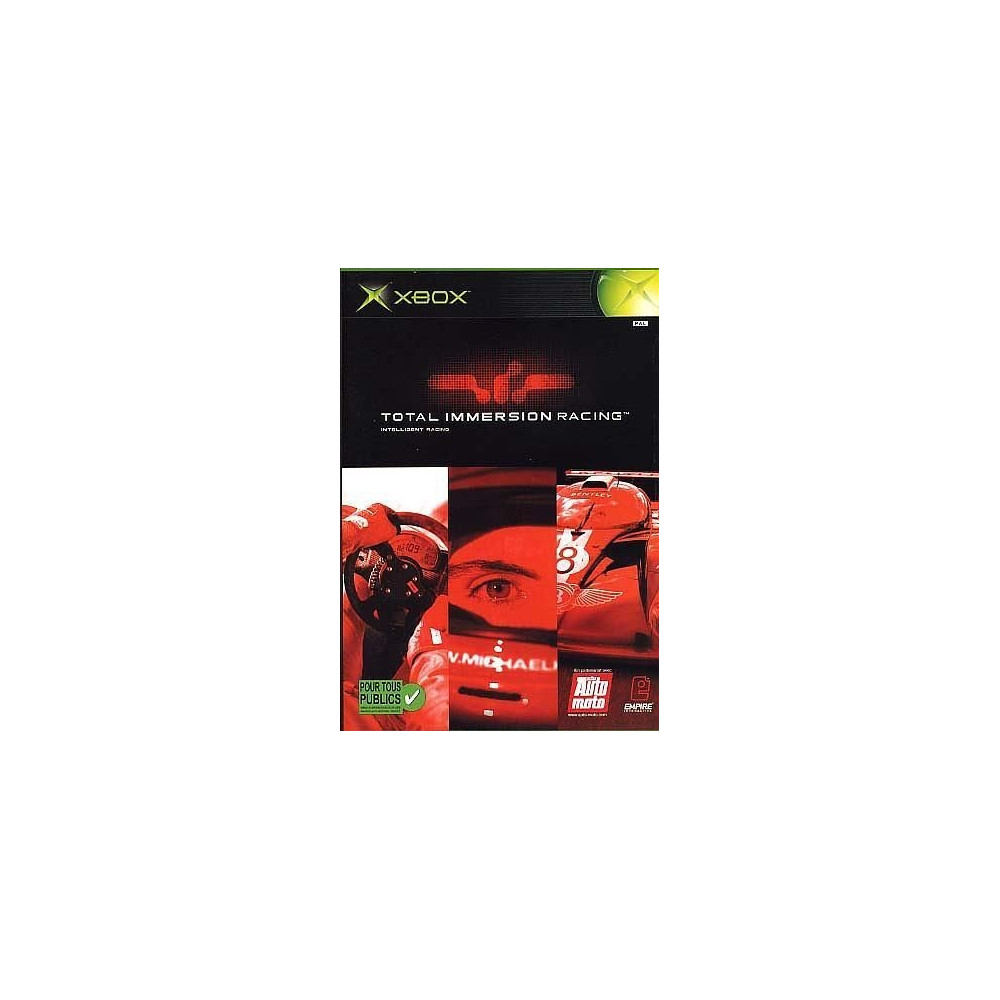 TOTAL IMMERSION RACING XBOX PAL-FR OCCASION