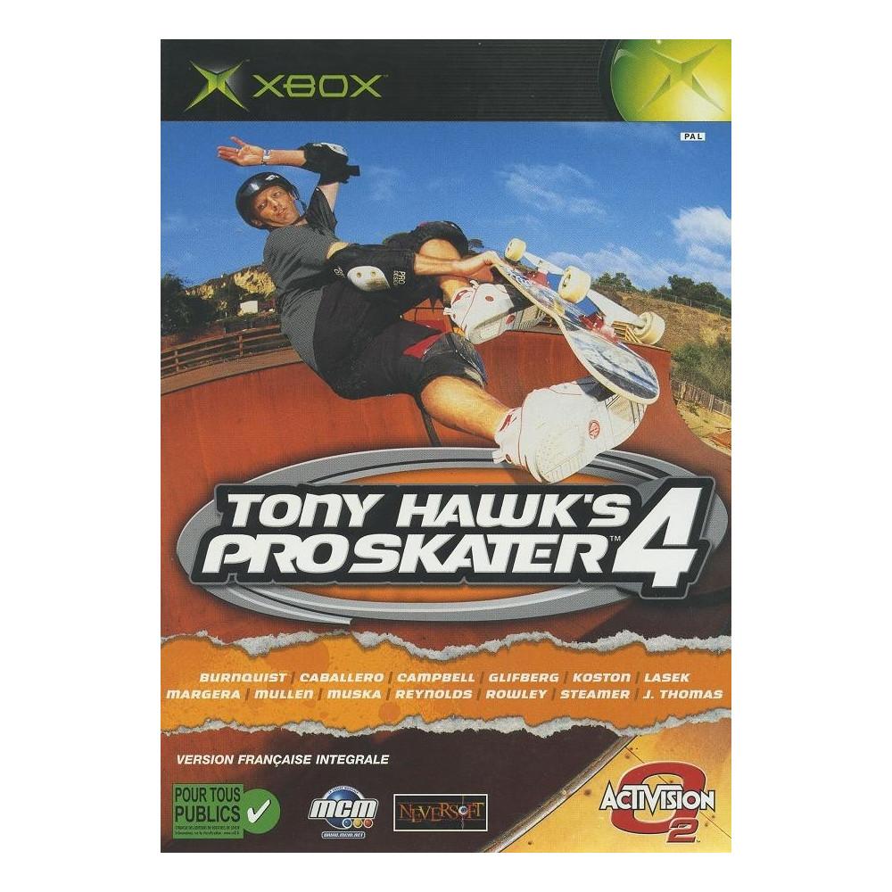 TONY HAWK S PRO SKATER 4 XBOX FR OCCASION