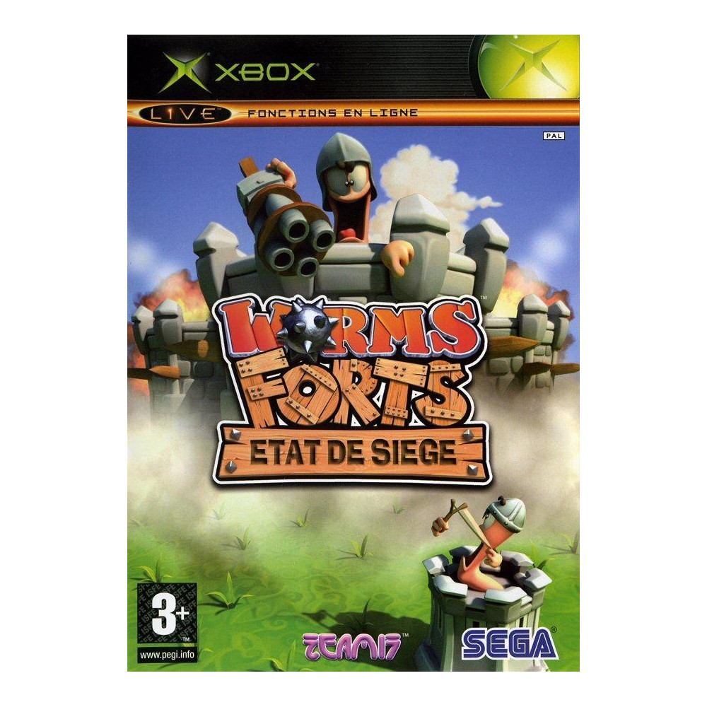 WORMS FORTS XBOX FR OCCASION
