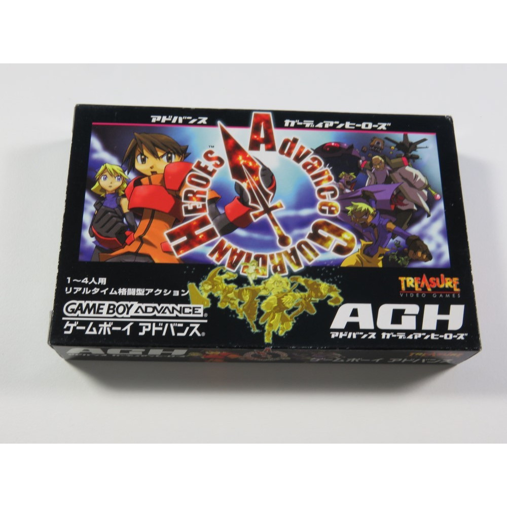 ADVANCE GUARDIAN HEROES GAMEBOY ADVANCE (GBA) JPN NEUF - BRAND NEW (TREASURE)