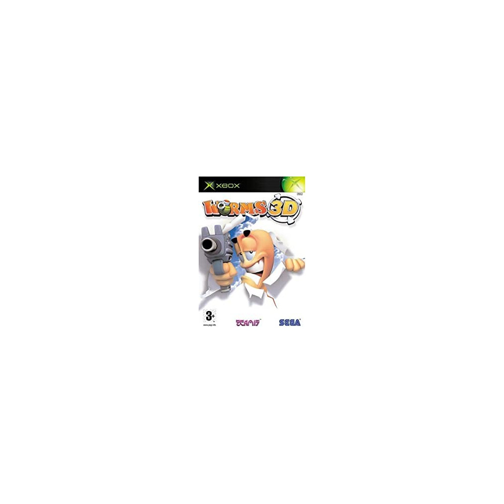 WORMS 3 XBOX PAL-FR OCCASION