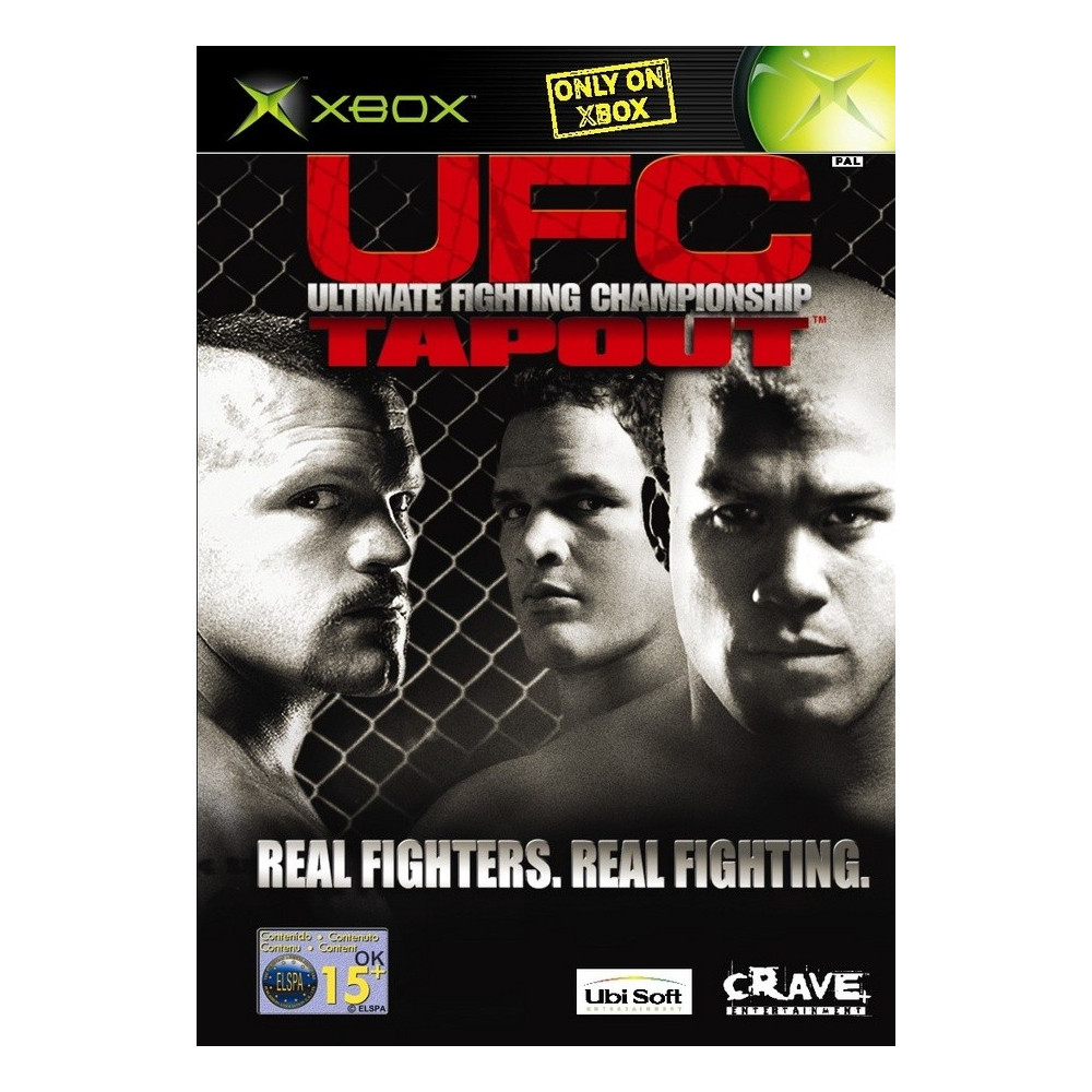 UFC: ULTIMATE FIGHTING CHAMPIONSHIP TAPOUT XBOX PAL-FR OCCASION