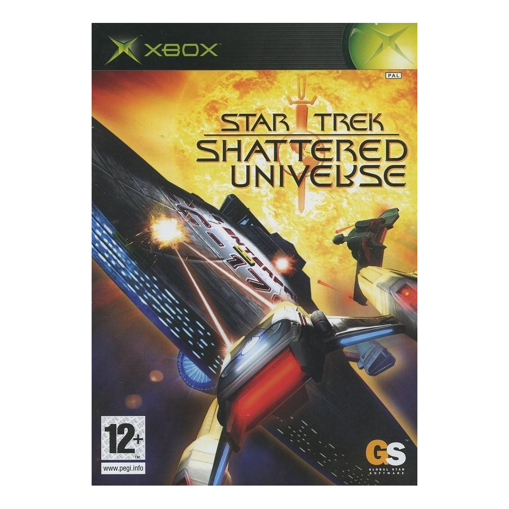STAR TREK SHATTERED UNIVERSE XBOX PAL-FR OCCASION