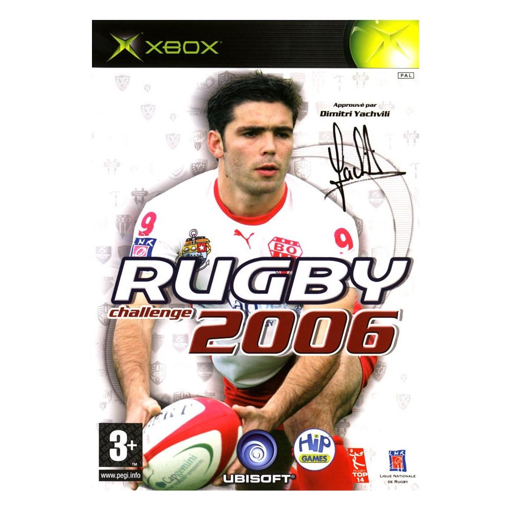 RUGBY CHALLENGE 2006 XBOX PAL-FR OCCASION
