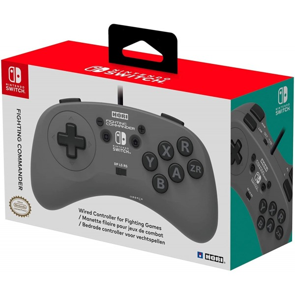 CONTROLLER FIGHTING COMMANDER HORI SWITCH EURO NEW