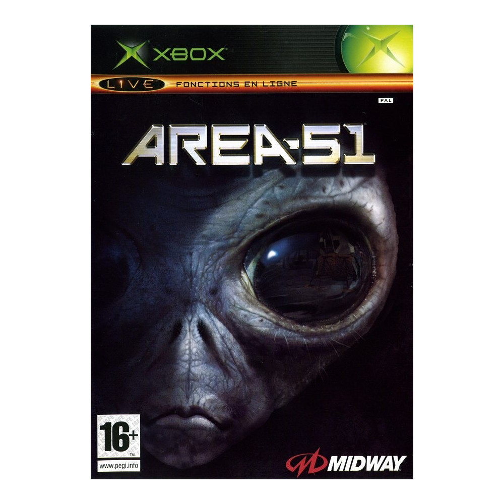 AREA 51 SANS NOTICE XBOX PAL-FR OCCASIN