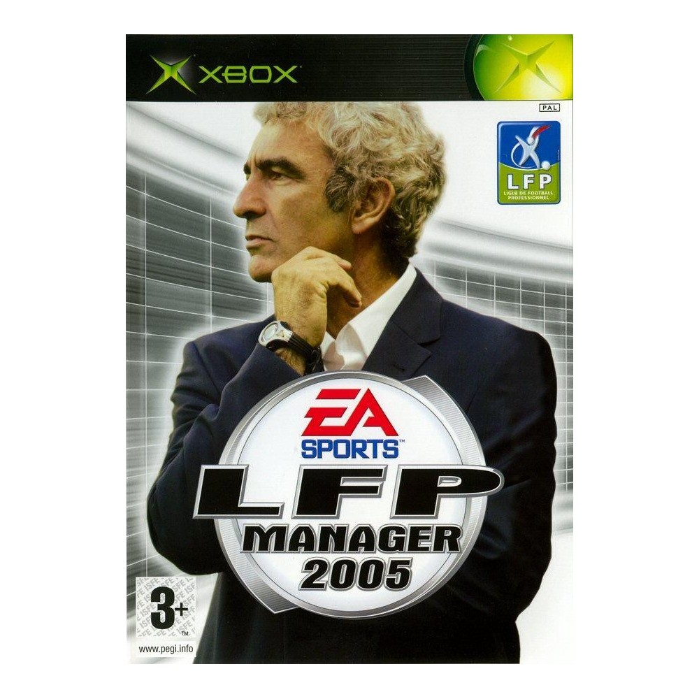 LFP MANAGER 2005 (SANS NOTICE) XBOX PAL-FR OCCASION