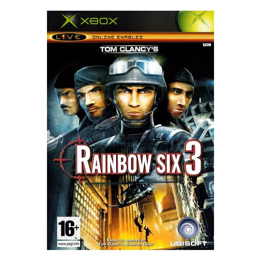 RAINBOW SIX 3 BUNDLE COPY XBOX PAL-FR OCCASION
