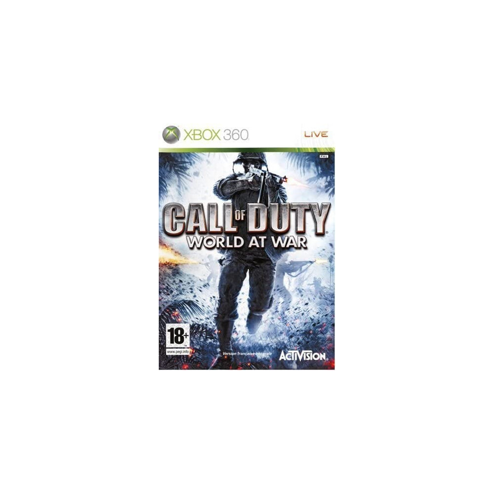 CALL OF DUTY WORLD AT WAR XBOX 360 PAL-FR OCCASION