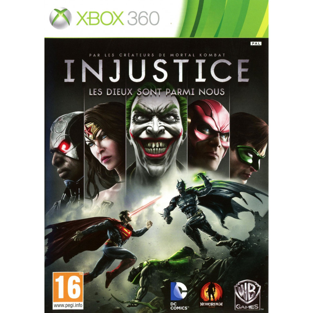 INJUSTICE GODS AMONG US XBOX 360 FR OCCASION