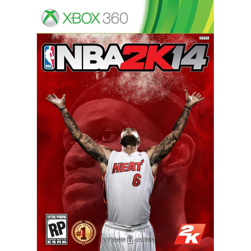 NBA 2K14 XBOX 360 PAL-FR OCCASION