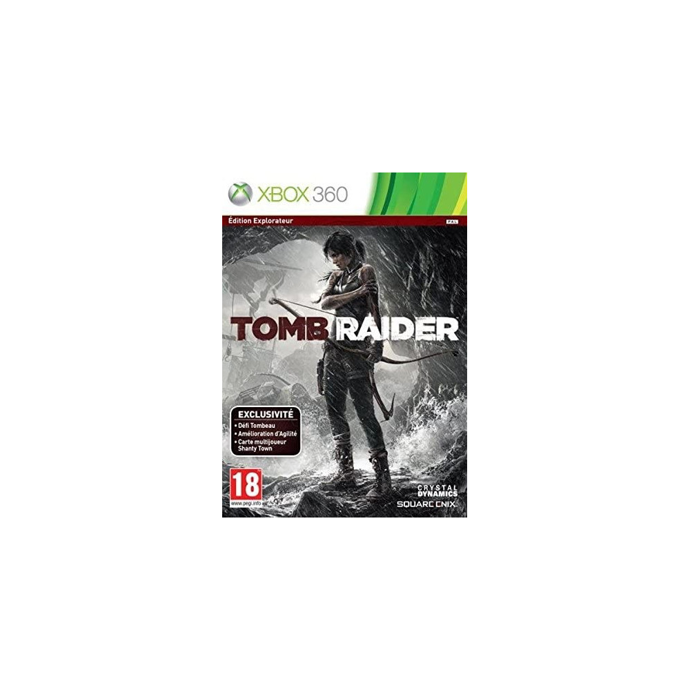 TOMB RAIDER EDITION EXPLORATEUR XBOX 360 PAL-FR OCCASION