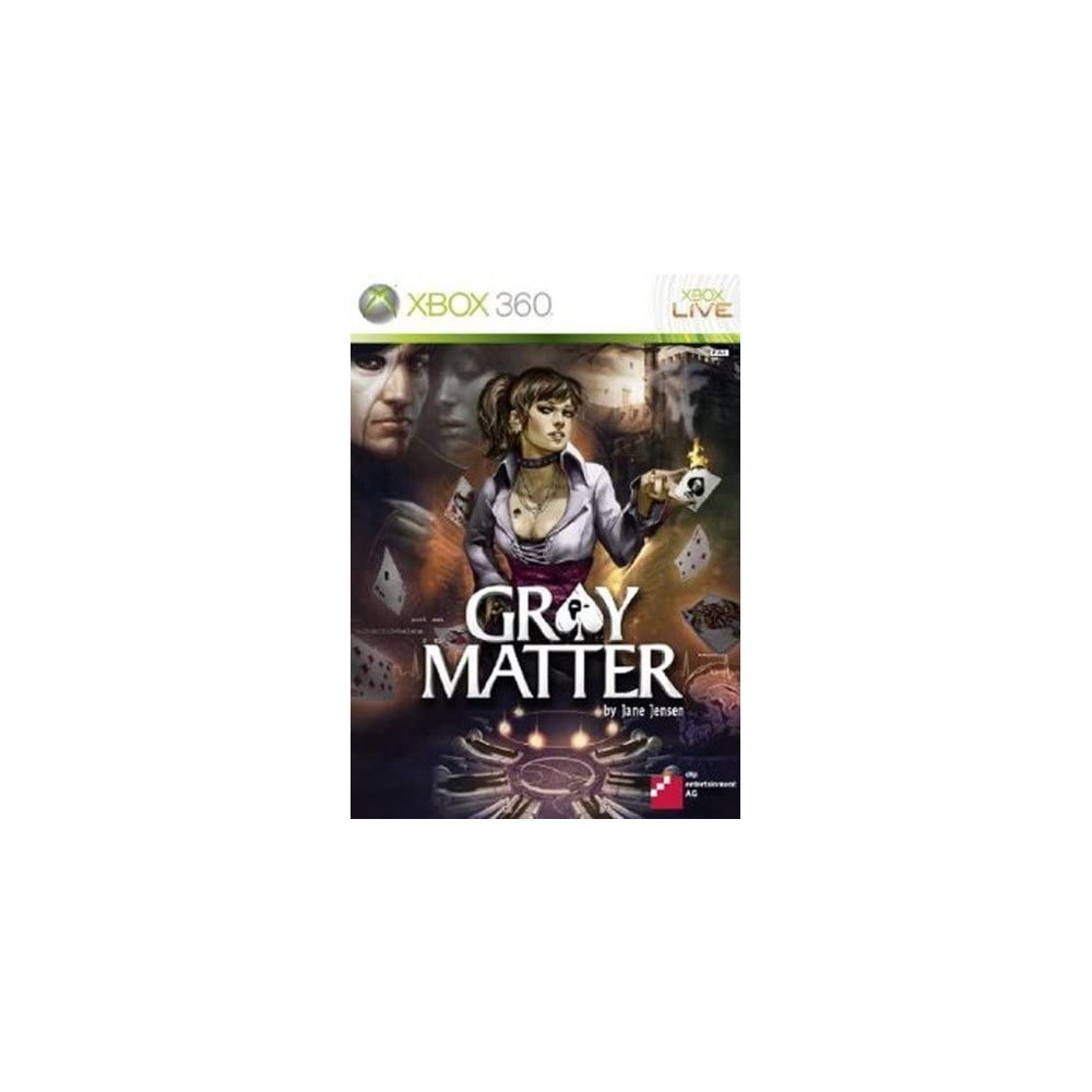 GRAY MATTER BY JANE JENSEN XBOX 360 PAL-FR OCCASION