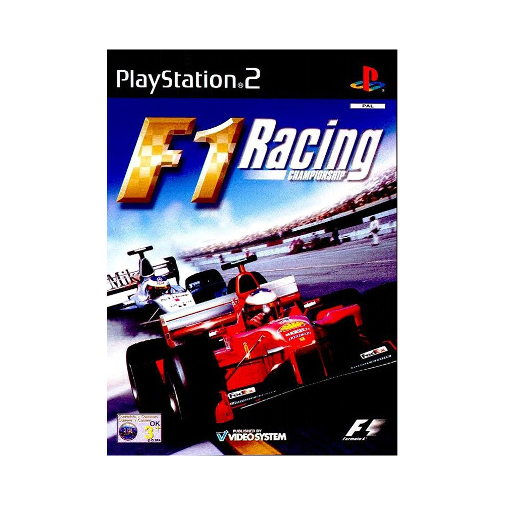 F1 RACING CHAMPIONSHIP PS2 PAL-FR OCCASION