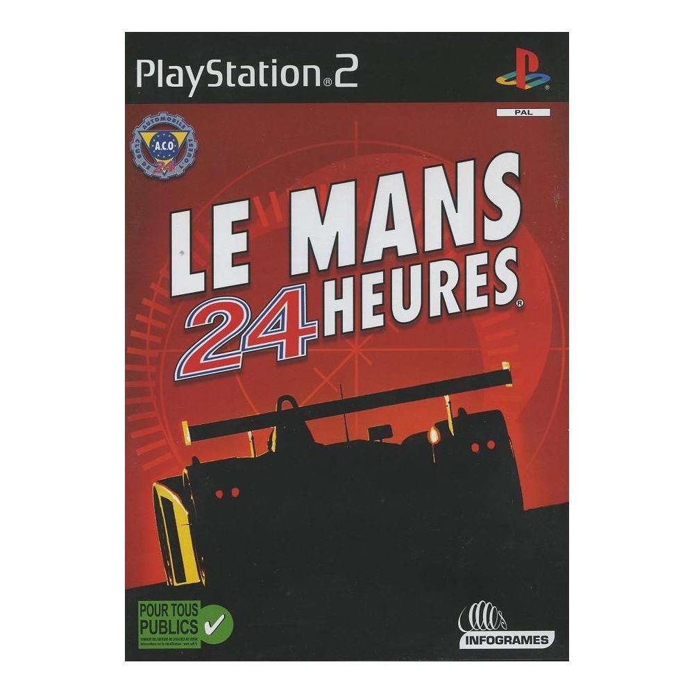 LE MANS 24 HEURES PS2 PAL-FR OCCASION