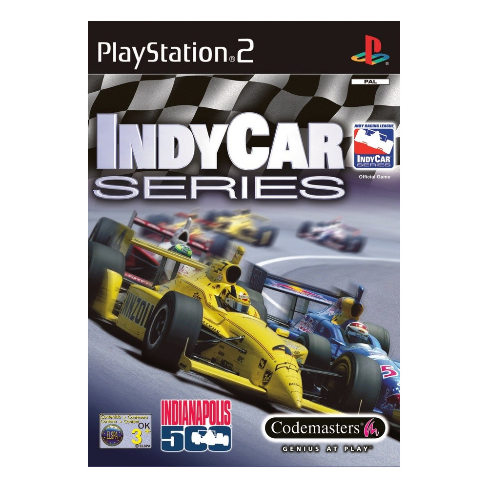 INDYCAR SERIES PS2 PAL-FR OCCASION
