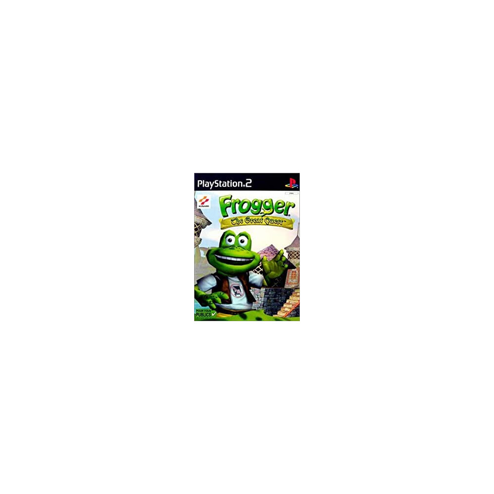 FROGGER THE GREAT QUEST PS2 PAL-FR OCCASION