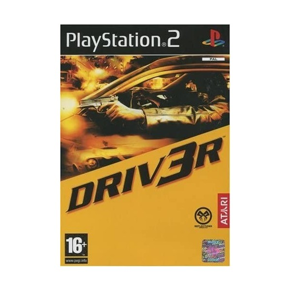 DRIVER 3 PS2 PAL-FR OCCASION (SANS NOTICE)