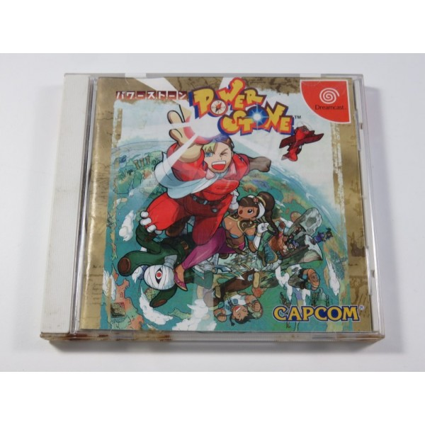 POWER STONE SEGA DREAMCAST NTSC-JPN (COMPLET - GOOD CONDITION OVERALL)