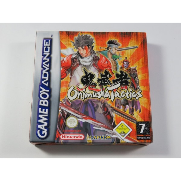 ONIMUSHA TACTICS GAMEBOY ADVANCE (GBA) EUR NEUF - BRAND NEW (NO BLISTER)(CAPCOM TACTICAL RPG)